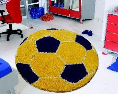 Коврик футбольный мяч своими руками 42