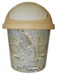 2539 Контейнер для мусора  10л (газета) Plastic Centre