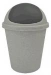 2543 Контейнер для мусора  5,5л (серый/темно-серый) 1/18 Plastic Centre