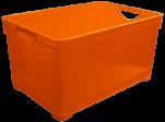 1006 Ящик для хранения универсальный 19л (оранжевый) 1/6 BranQ
