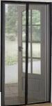 Сетка москитная на дверь на магнитах (210см*90см) черная 1/40