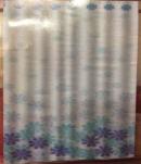 Штора Miranda (Цветы) голубые FLAKES 180*200см