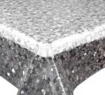 142-001ТС  Клеенка DEKOLINE Crystal 1,37*20м прозрач.