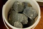 Камни Долерит колотый, 10кг (ведро)