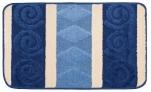 Коврик для в/к Avangart 1пр. 50*80 (D.Blue Ecru)