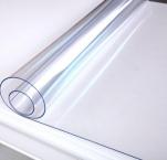 """(0,8)Термоклеенка силиконовая прозрачная CRYSTAL """"Гибкое Стекло""""  1,0м*15м*0,8мм мод. С080/1.0"""