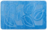 Коврик для в/к Standart  1пр. 60*100 голубой