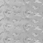 0046-001-05PW Клеенка Аврора, 1,37 *20м, серебро (ПВХ на ткан.основе)