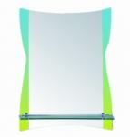 604 Зеркало 800*600мм, с полочкой