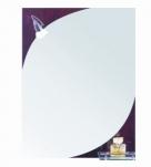 612 Зеркало 800*600мм, с полочкой, светильник Accoona