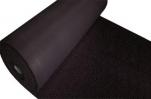 Коврик-дорожка Спагетти 1,22*12м черный
