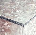 156-001ТС Клеенка DEKOLINE Crystal 1,37*20м прозрач.