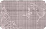 Сервировочная салфетка ПВХ 26х41см Бабочки /20