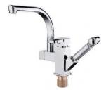 4491 Смеситель для кухни с гигиеническим душем (излив  вращаются на 360 град.).Accoona