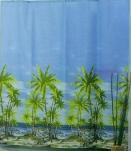 Штора Miranda PALM (Пальмы) 180*200см
