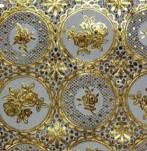 20218 Клеенка ажурн. 1,37*20м золото мод.2024