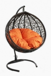 Кресло подвесное Ротанг 8мм. Венге К1