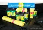 Мешок мусорный 30л (10шт/рул) с завязками черный 15мкм ПНД Чистая Планета 1/60