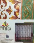 Штора Miranda ORCHESTRA (Оркестр) зеленый 180*200см
