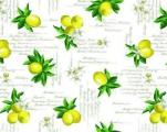 404.1 Клеенка Future 1,4*20м Лимоны ПВХ на нетк.осн. с печат.рис.(Италия)