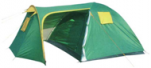 "81-628 Палатка туристич. 4-х мест., двухслойная ""Невада"", 390*210*130см, WILDMAN 1/5"