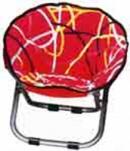 81-452 Кресло с подлокотниками круглое со съемным чехлом, WILDMAN 1/5