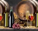Кухонный фартук АБС Вино (600*3000*1,5мм)