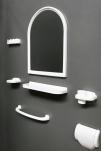 Зеркальный набор Adria 2001 бордо 1/6
