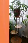 Подставка д/цветов 1,0м оранж (3 места, на 3 трубках)