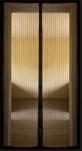Сетка москитная на дверь на магнитах (210см*100см) коричнев. 1/40