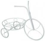 "Подставка д/цветов ""Велосипед"" (белое серебро) 540*290*410"