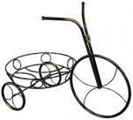 """Подставка д/цветов """"Велосипед"""" (черный) 540*290*410"""