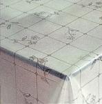 227-001ТС Клеенка DEKOLINE Crystal 1,37*20м прозрач.
