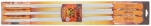 80-059 Н-р плоских шампуров с дерев.ручкой, 60*1*0,15см,  6шт, ROYALGRILL 1/12