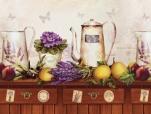 Кухонный фартук АБС Альпийская лаванда (600*3000*1,5мм)