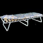 """Кровать раскладная """"Марфа-3"""" (2000*800*390) на ламелях с матрасом 7 см (увеличенная)"""