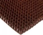 Коврик Травка на основе 60*90см коричневый