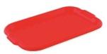 1455 Поднос универсальный малый (красный) 43*27,5см 1/60 Plastic Centre