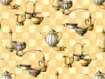 2100-ТТ Клеенка ORCHID б/основы 1,37*20м (кухня беж.)