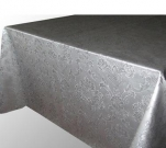 PLEV58-SI Клеенка Polyline 1,4*15м Аметист  серебристый (Ткань с покрытием)