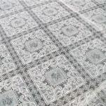 7967ТВ Клеенка Ажурная 1,38*15м белая