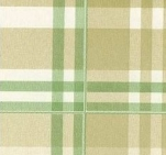 287-10 Клеенка ДЕКОМИР 1,35м*20м шотландка зеленая