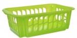 2551 Корзина хозяйственная (зелен) 400*260*150 Fimako