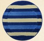 Коврик для в/к Avangart 1пр. D100см (D.Blue Ecru)