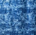 Штора Miranda DENIM (Джинс) голубой 180*200см