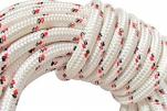Шнур плетеный из хим.нитей d=12мм (1кг/18м) 1сорт (разрыв.нагруз.500кгс) 24-прядный