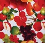 23002 Клеенка ВЕРОНА на нетканной осн.1,37*25м мод. SJ004 фрукты