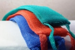 Мочалка Махровая 12*42см (махр.полотно, поролон), жесткая