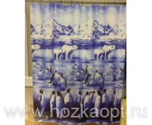 Штора Miranda (Пингвины) FAIRYLAND 180*180см