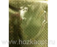 Штора Miranda (Сатин ромб) зелёный 180х180см